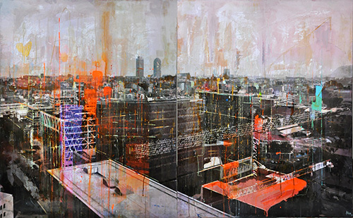 Barcelona 144_2x81x100cm---sold