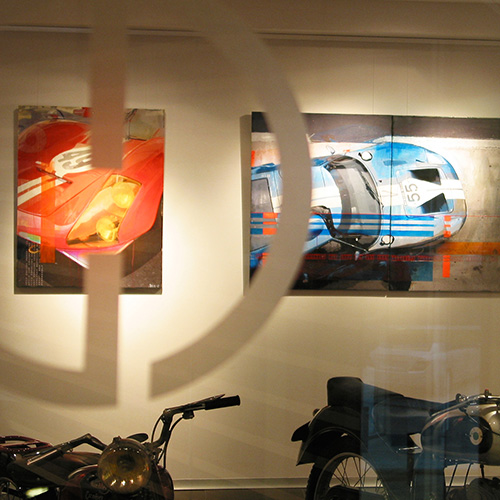 2008: Exhibition 'Racing-Legends' @ Gentlemen Drive__Sant Cugat/Spain