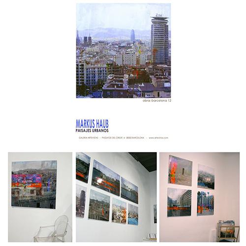 2009: Exhibition 'PaisajesUrbanos' @ Galeria Artevistas_Barcelona