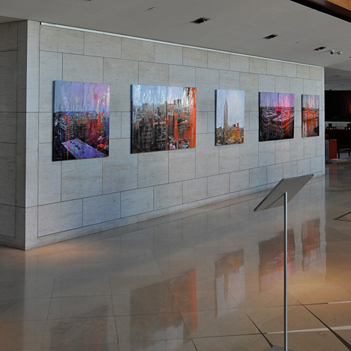 November 2010: Exhibition 'Cityscapes' @ Hotel Gran Marina*****__Barcelona
