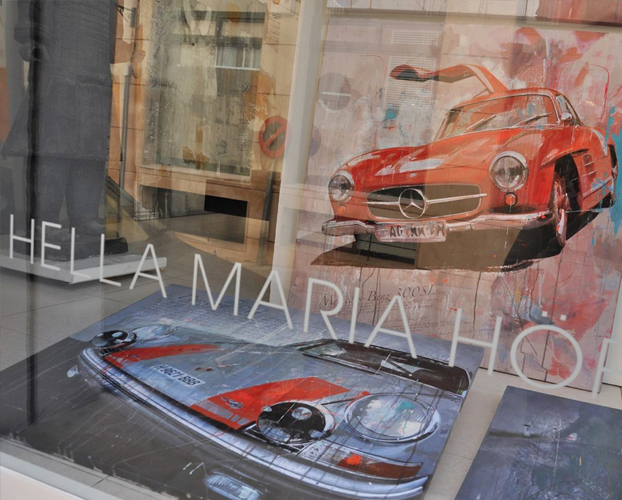 March 2013: Exhibition 'Racing Legends' @ Galeria HMH_Mallorca