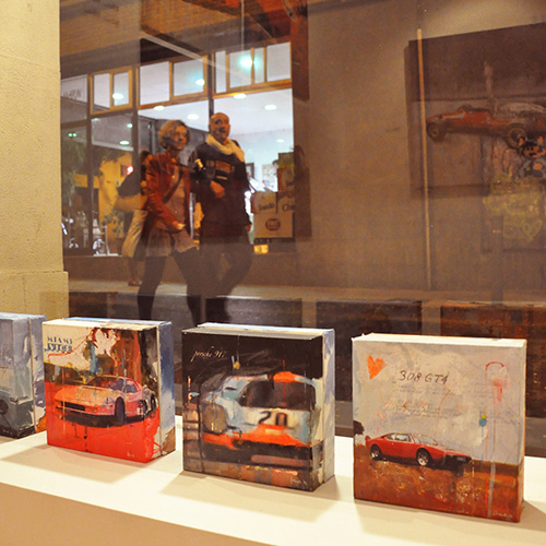 November 2012: Exhibition 'Racing Legends' @-Galeria Victor Lope Arte Contemporaneo