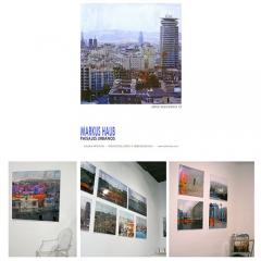 2009: Exhibition \'PaisajesUrbanos\' @ Galeria Artevistas_Barcelona