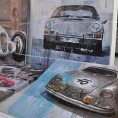 March 2013: Exhibition \'Racing Legends\' @ Galeria HMH_Mallorca