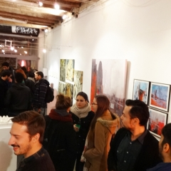 OPENING NIGHT collective show @ galeria Untitled BCN