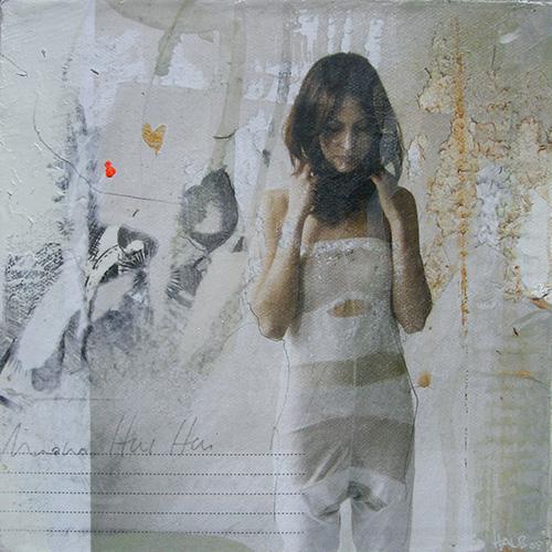 Paper Girl l05_20x20cm