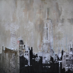 New York 124_120x120cm__sold