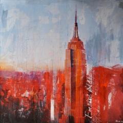 New York 240 _100x100cm__sold