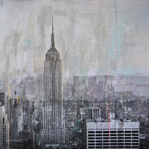 New York 123_120x120cm__sold