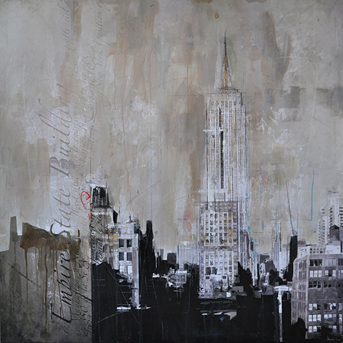 New York 124_120x120cm__sold