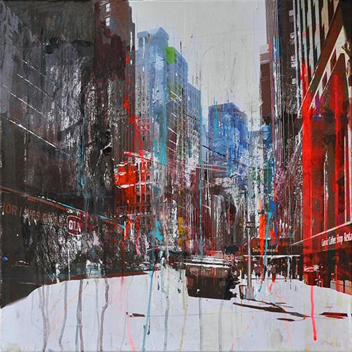 New York 148_60x60cm