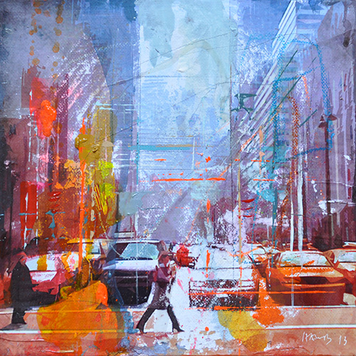 New York 156_20x20cm---sold