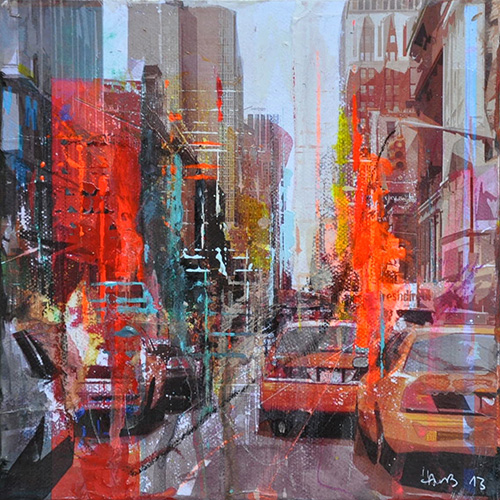 New York 164_20x20cm---sold