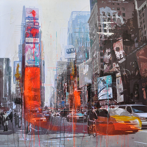 New York 165_80x80cm__sold