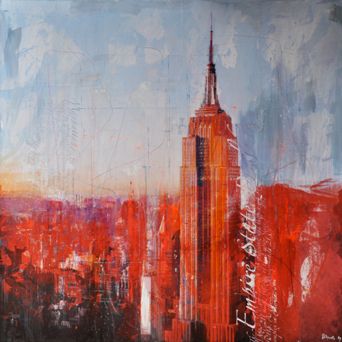 New York 240 _100x100cm