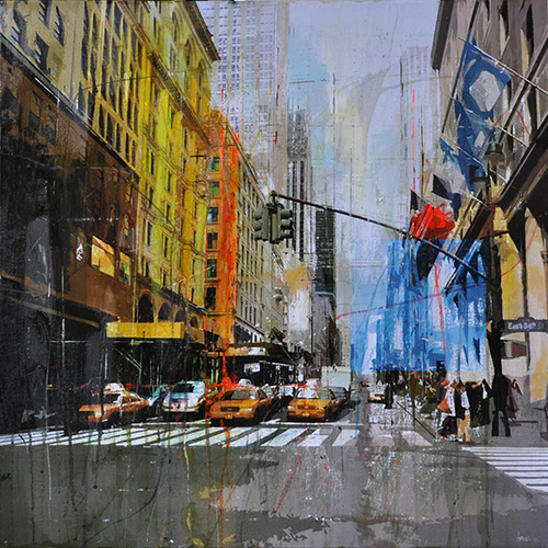 New York 105_80x80cm__sold
