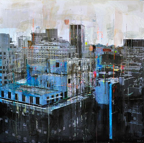 New York 43_80x80cm---sold