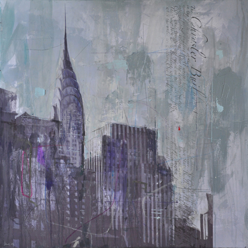 New York 238_80x80cm