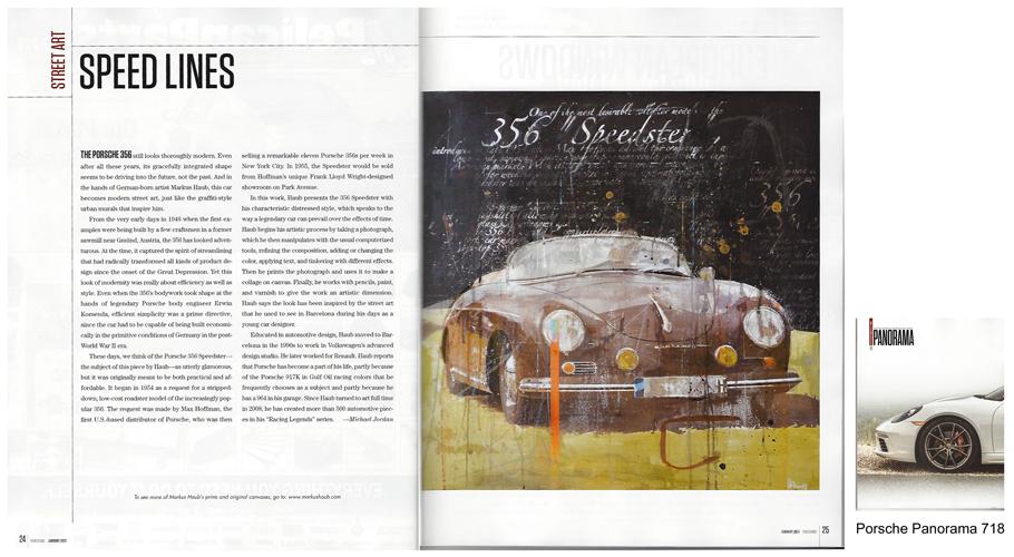 Jan 2017: Article Porsche Panorama 718