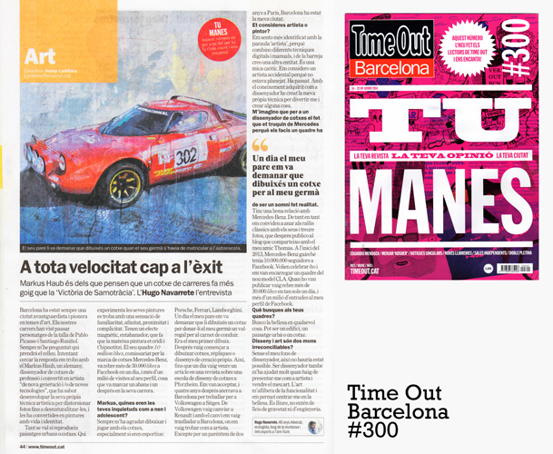January 2014: article @ Time Out Barcelona #300