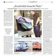 December 2009: Article @ Pforzheimer Kurier