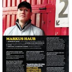 May 2012: Interview @ DAMMBARS Magazine Spain