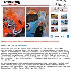 January 2012: Interview @ motoring.com_Australia