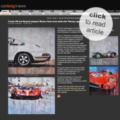 May 2013: article @ Cardesignnews