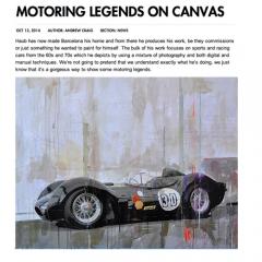 October 2014: article @ Goodwood Road&Racing