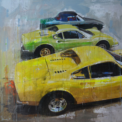 Racing Legends 528_80x80cm